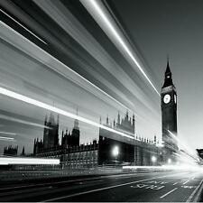 1 WALL GIANT PHOTO WALLPAPER LONDON BIG BEN BLACK WHITE POSTER MURAL 3.15x2.32m