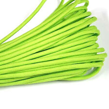 550 Paracord Parachute Cord Lanyard Mil Spec Type III 7 Strand Core 100 FT Green