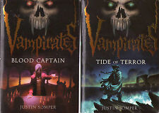 Complete Set Series - Lot of 5 Vampirates books by Justin Somper YA Teen Fiction