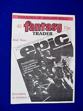 Fantasy Trader 45: UK Fanzine  1980 edited by Gez Kelly