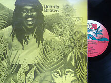 "Wolves & Leopards/Dennis Brown/JGM Records label/12"" Vinyl LP"