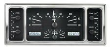 Dakota Digital 35 36 39 Ford Car Analog Dash Gauge Black Alloy White VHX-35F-K-W