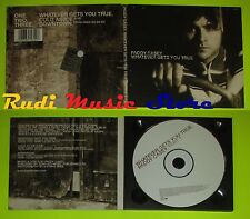 CD Singolo PADDY CASEY Whatever gets you true Uk 1998 SONY MUSIC mc dvd (S7)