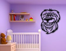 Wall Stickers Vinyl Decal Smiling Lion Animal for Baby Room Nursery (ig767)