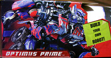 TRANSFORMERS OPTIMAS WALL DECAL / POSTER BUILD A BOT SERIES HASBRO FLYPAPER