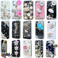 FOR APPLE iPHONE 4 4S LUXURY 3D CRYSTAL DIAMOND CASE BLING DIAMANTE HARD COVER