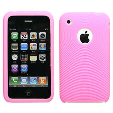 Pink Silicon Case for iPhone 2G 3G