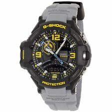 New Casio Mens G-Shock GA1000-8A G-Aviation Twin Sensor with Illuminator Watch