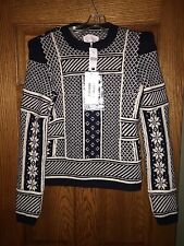$1625 NWT Maison Martin Margiela Fair Isle wool sweater Medium
