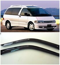 For Toyota Estima 1990-1999 Side Window Visors Sun Rain Guard Vent Deflectors
