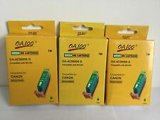 Canon Pixma IP8500 Green Ink Cartridge BCI-6G BCI6G BCI 6 G New Boxed x3