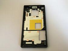 ORIGINALE Sony Xperia Z5 Compact e5803 CHASSIS TELAIO ALTOPARLANTE Porta Flap COPERCHIO GRIGIO
