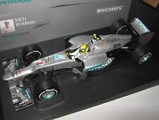 1:18 Mercedes GP w03 N. rosberg Chine 1. win 2012 110120108 Minichamps Ovp New