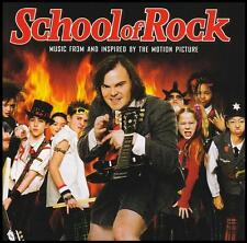 SCHOOL OF ROCK - SOUNDTRACK CD ~ JACK BLACK~AC/DC~LED ZEPPELIN~DOORS~CREAM *NEW*