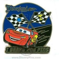 CARS Lightning McQueen I BRAKE FOR PIN TRADING NIGHTS COLLECTION LE 500 DISNEY