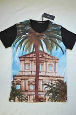 DOLCE & GABBANA PALM TREE T-SHIRT SIZE 50 LARGE D&G ANCIENT RUINS