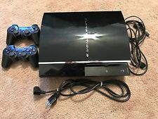 Ps3 60gb CECHA01 System PlayStation 3 Console Lot Bundle Backwards Compatible