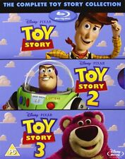 Toy Story Trilogy All 3 MOVIES 1 2 & 3 BOXSET BLU-RAY REGION Free