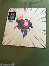 Free*Postage New Superman animated series Die Cut vinyl RED Soundtrack OST Mondo