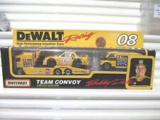 Matchbox 1993 #08 Bobby Dotter Dewalt Tools 3 Model Team Convoy Nu in C9Mint Box