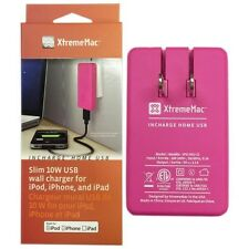 XtremeMac 10W InCharge Home USB Wall Charger for iPhone/iPad/iPod - Pink