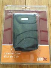 PALM Life Drive Black Leather Case Holder 32199WW NEW LifeDrive Genuine