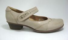 New $109 Earth Clover size 9 Light Pecan Genuine Leather Mary Jane Low Heels
