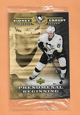 Sidney Crosby Rookie Upper deck 2006 Phenomenal Beginings JUMBO Card # SC1