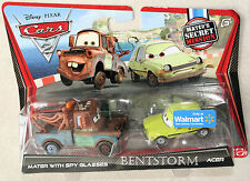 Disney Pixar Movie Cars 2 MATER with SPY GLASSES and ACER Walmart Exclusive NEW