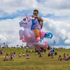 Inflatable Unicorn / Dinosaur Adult Fancy Dress Hen Stag Blow Up Costume Gig