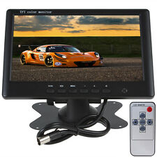 7Inch Color TFT LCD 800x480 Pixel 2Channels Video Input Car Rear View Monitor
