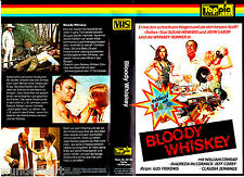 "VHS - "" Bloody WHISKEY ( Moonshine County Express ) "" (1977) - John Saxon"
