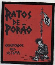 RATOS DE PORAO PATCH / SPEED-THRASH-BLACK-DEATH METAL