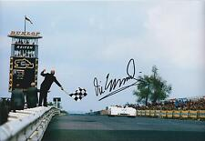 Vic ELFORD SIGNED 12x8 Photo Autograph COA AFTAL F1 Signature Obtained In Person