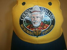 COUSIN WILLIE'S MICROWAVE POPCORN HAT Embroidered Logo Cap Ramsey Indiana