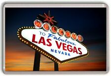 Las Vegas Nevada Fridge Magnet 02