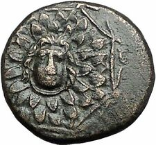 AMISOS in PONTUS MITHRADATES VI the GREAT Gorgon Aegis Nike Greek Coin i55541