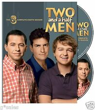 Two and a Half Men ~ Complete 8th Eighth Season 8 Eight ~ NEW 2-DISC DVD SET