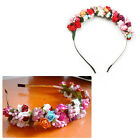Beautiful Hair Crown Flowe Headband, Flower Crown Wedding Garland Hair Band