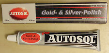 Autosol Gold & Silver Polish 75mL Tube - Cleans/Restores Gold Silver & Platinum