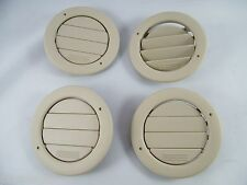 (4) 2000 FORD WINDSTAR OEM CEILING HEAT / AC VENT OVERHEAD TAN COLOR