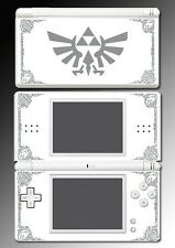 Legend Zelda Grey White Special Edition Game Decal Skin Cover Nintendo DS Lite