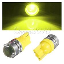 2X T10 LED 194 168 W5W Car Side Wedge Tail Yellow Light Backup Lamp Bulb New