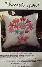 Thank You by Don't Look Now Pillow Pattern FREE US SHIPPING!