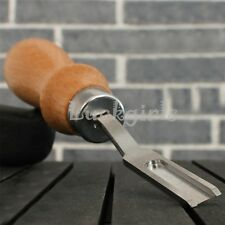 French Edge Skiver Beveler Chipping Knife Leather Craft Skiving Tool