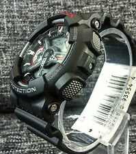 CASIO G SHOCK GA-110-1AER BLACK & RED XLARGE ANALOGUE & DIGITAL BRAND NEW