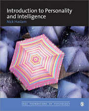 Introduction to Personality and Intelligence by Nick Haslam (Paperback, 2007)