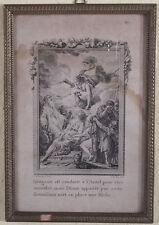 Moreau le Jeune; Iphigenie, Kupferstich um 1800