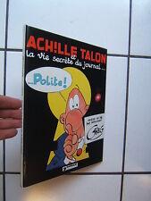 GREG / ACHILLE TALON / ET LA VIE SECRETE DU JOURNAL / EO