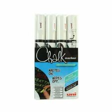 LIQUID CHALK MARKER WINDOW GLASS MARKER WHITE PWE-5M in Handy Wallet by Uni-Ball